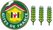 3 épis aux Gîtes de France : gîte d'étape et de séjour