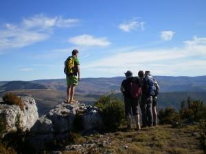Randonnées pédestres à Meyrueis, Lozère et Cévennes